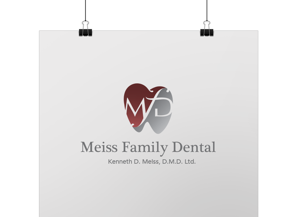 Meiss Family Dental Logo Design