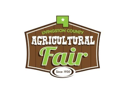 LIvingston County Ag Fair Pontiac, IL Logo