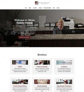 Meiss Family Dental Website