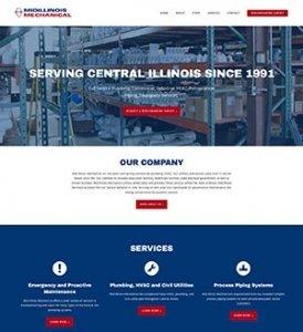 Mid Illinois Mechanical Website