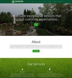 Superior Landscaping Website